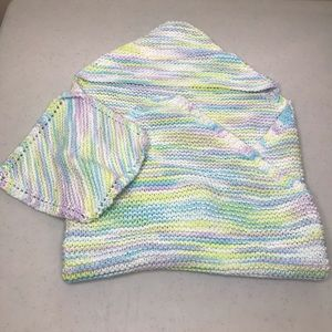 5/$25 HANDMADE Hooded Baby Towel & Washcloth